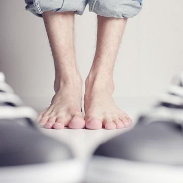 eliminar los hongos en los pies