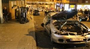accidente policía Orihuela
